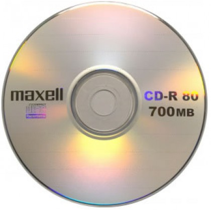 CD-R Maxell 700 Mb