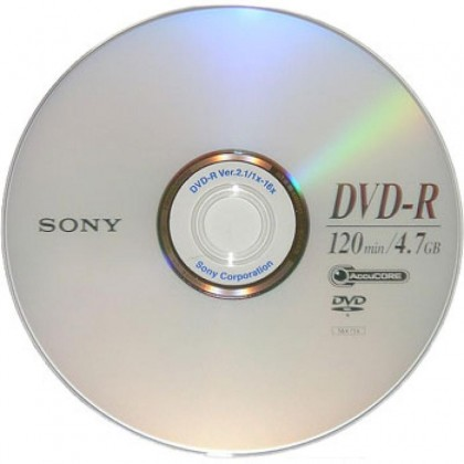 DVD+R 4.7 Gb Sony 16x
